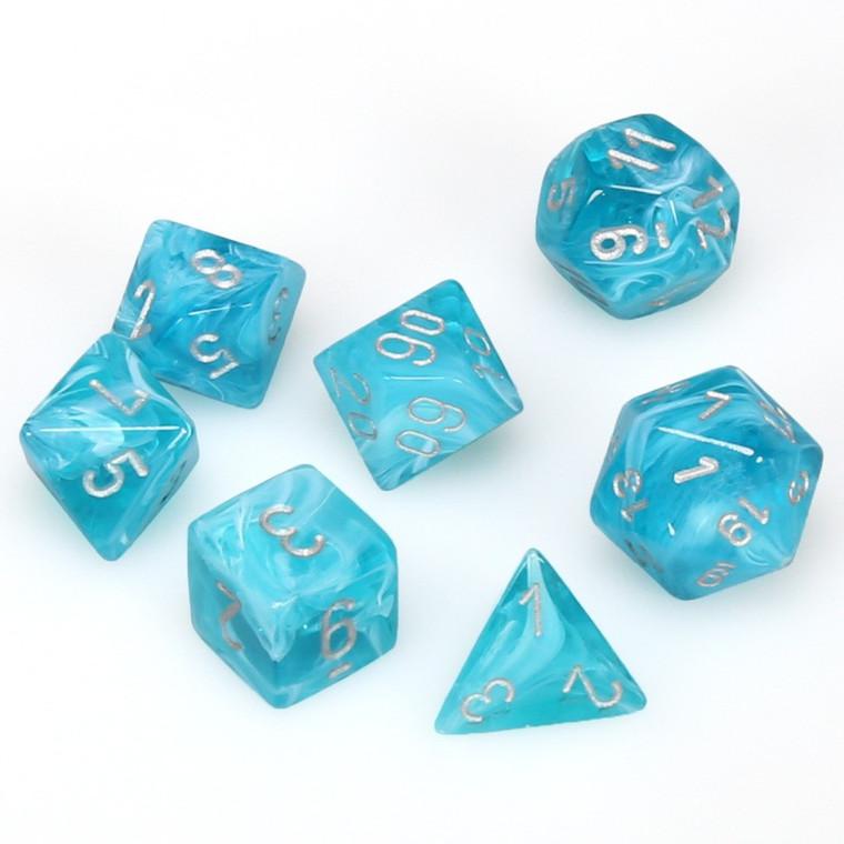 CHX Polyhedral Cirrus Aqua w/ Silver 27465