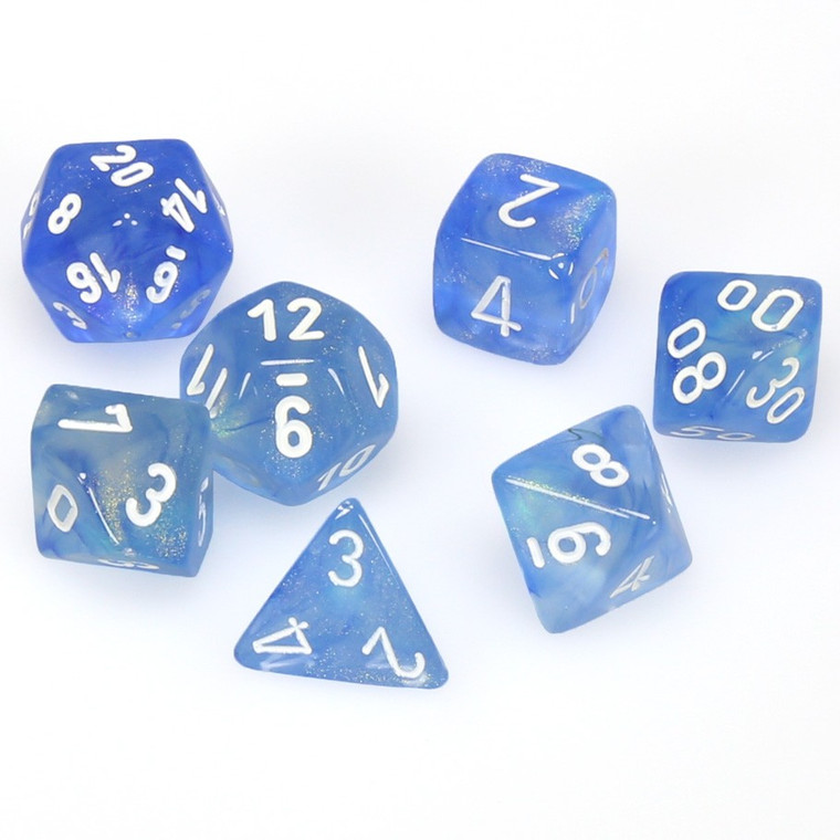 CHX Polyhedral Borealis Sky Blue w/ White 27426