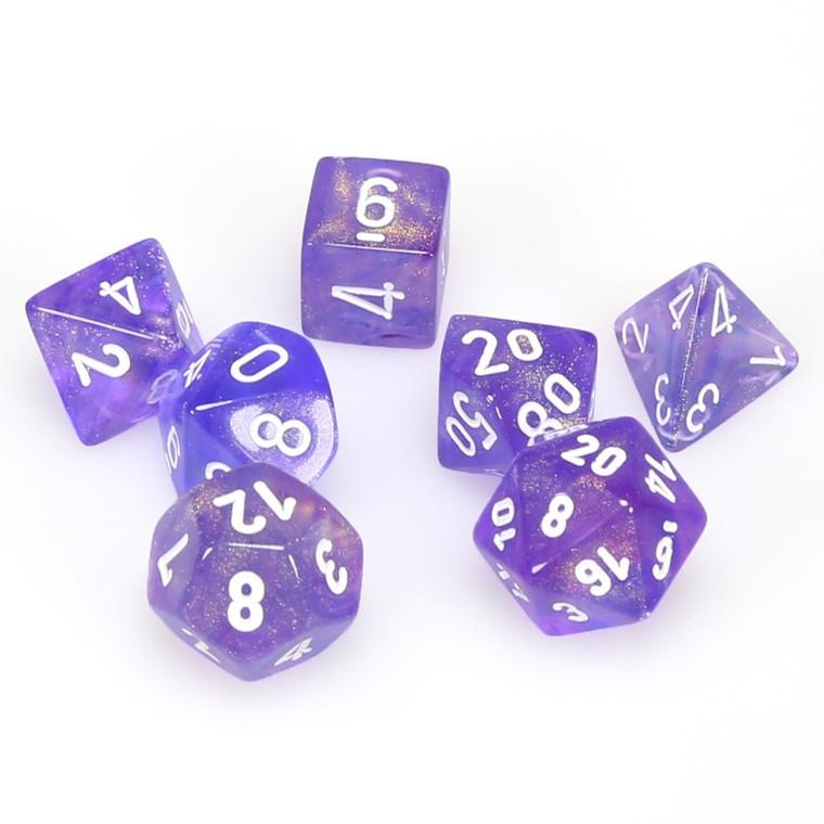 CHX Polyhedral Borealis Purple w/ White 27407