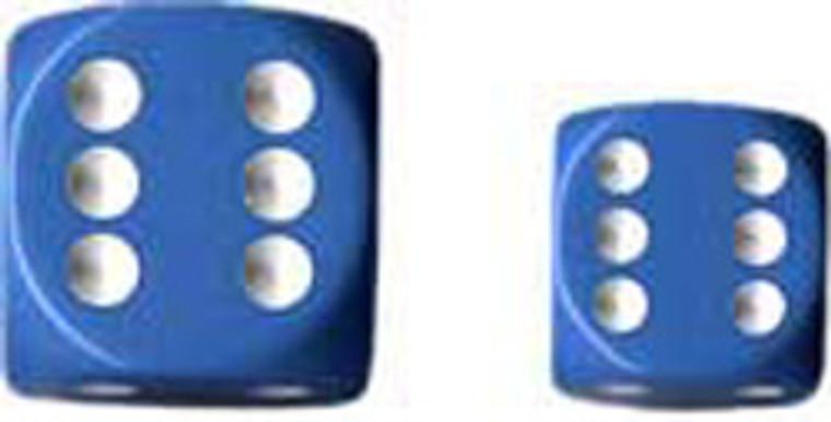 CHX D6 16mm 12x Opaque Light Blue w/ White 25616