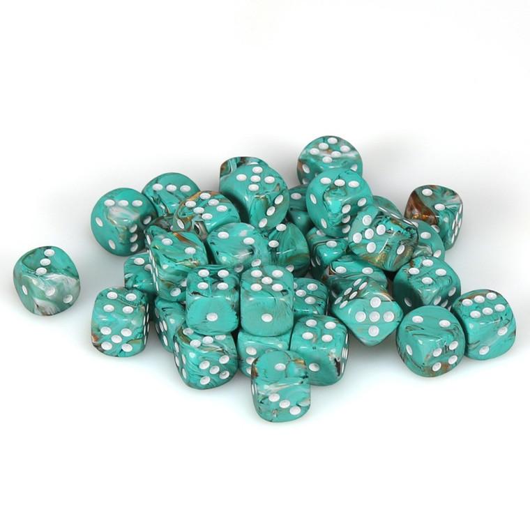 CHX D6 12mm 36 Marble Oxi-Copper w/ White 27803