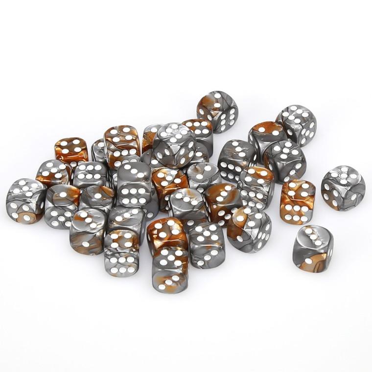 CHX D6 12mm 36 Gemini Copper-Steel w/ White 26824