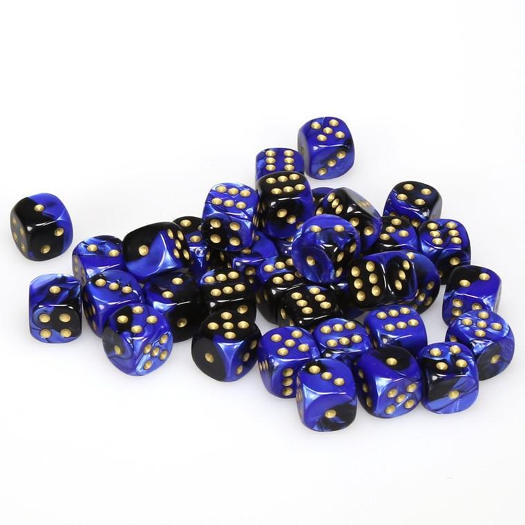 CHX D6 12mm 36 Gemini Black-Blue w/ Gold 26835