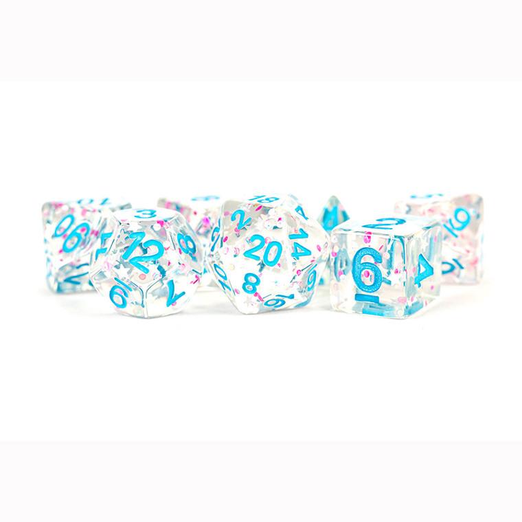 MDG Poly 16mm Clear Confetti