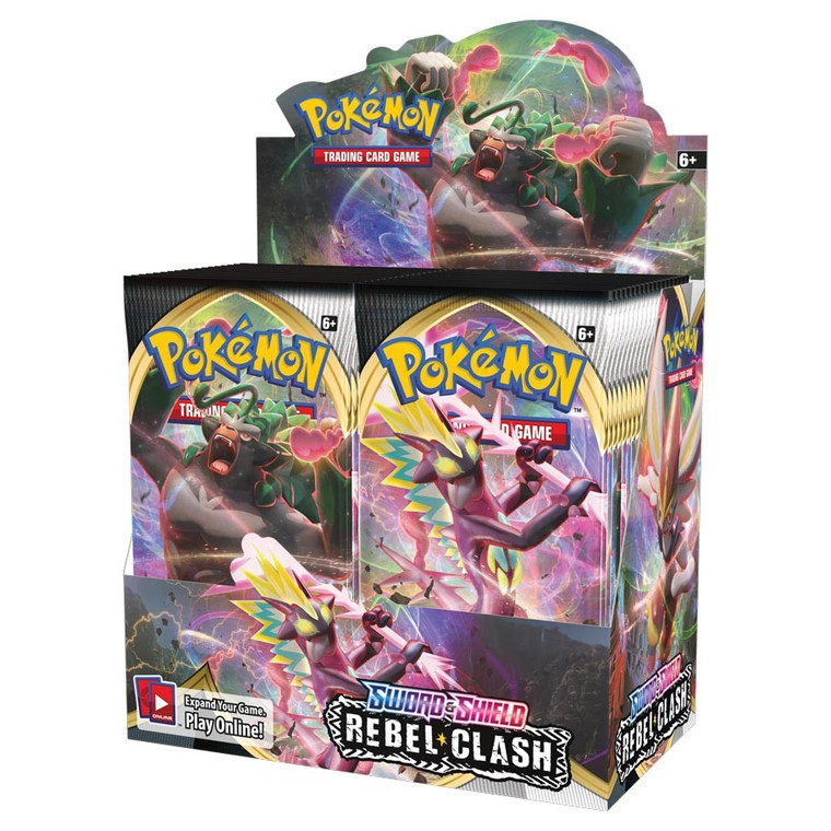 Sword and Shield Rebel Clash Booster Box
