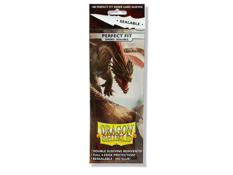 Dragon Shield Perfect Fit Seal Smoke 100 ct.