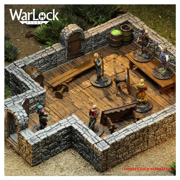 WarLock Tiles Dungeon I