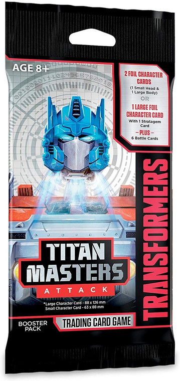 Transformers Titan Masters Attack Booster Pack