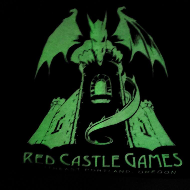 RCG Dragon Youth T-Shirt Black w/ Glow In The Dark