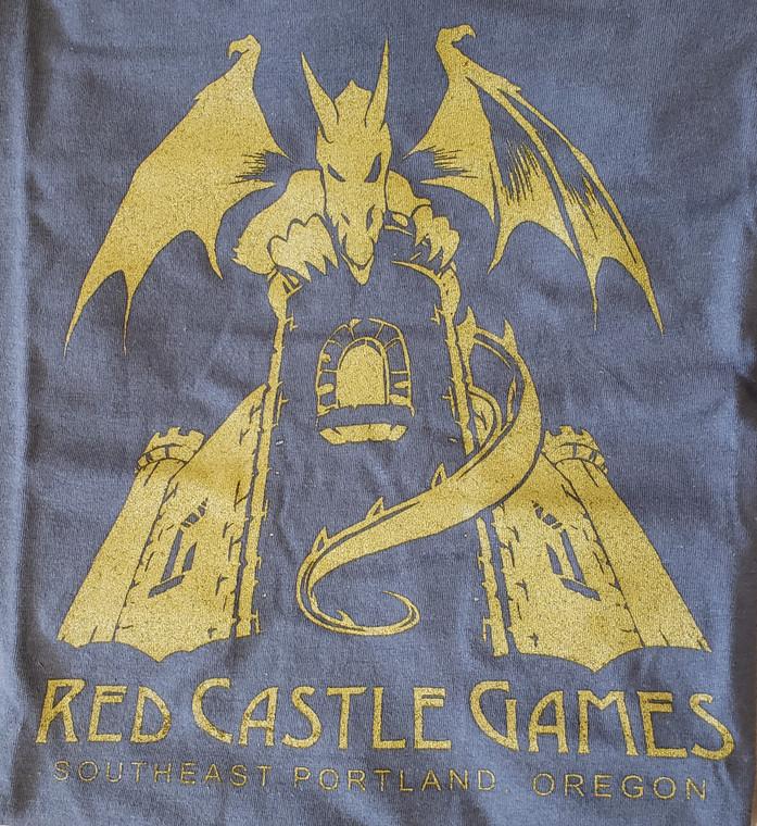 RCG Dragon Youth T-Shirt Gray w/ Gold
