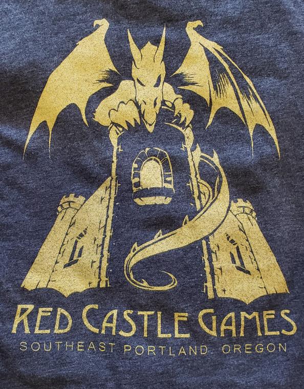 RCG Dragon T-Shirt Gray w/ Gold