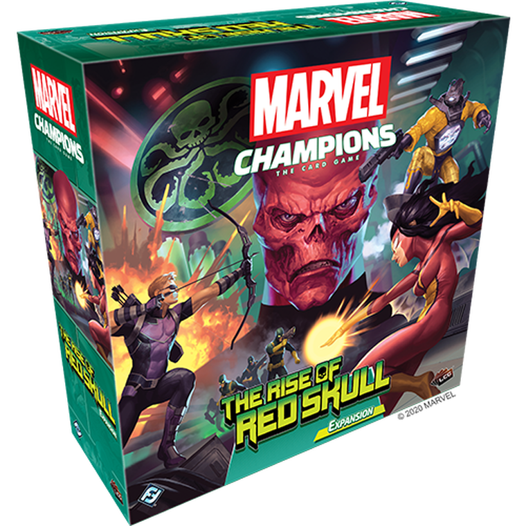 Marvel Champions LCG: Rise of Red Skull Campaign Expansion
