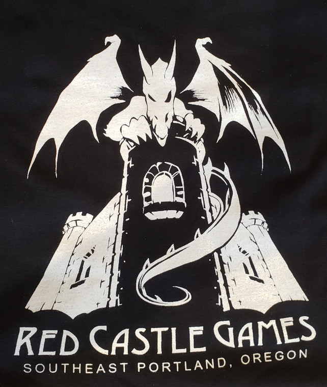 RCG Dragon T-Shirt Black w/ White