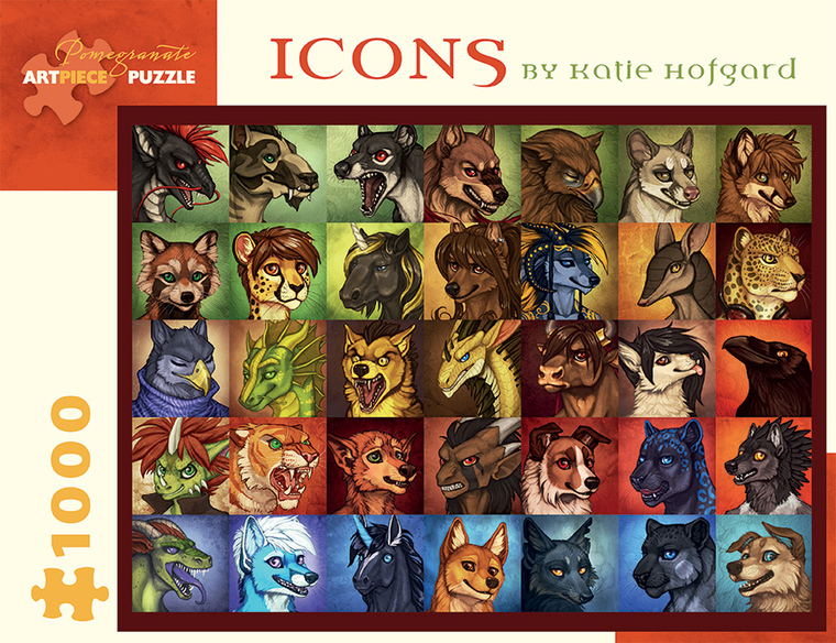 1000 Pc Hofgard, Katie: Icons