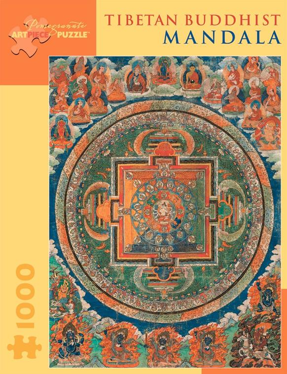 1000 Pc Tibetan Buddhist Mandala