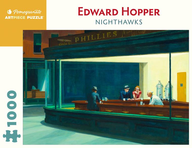 1000 Pc Hopper, Edward: Nighthawks