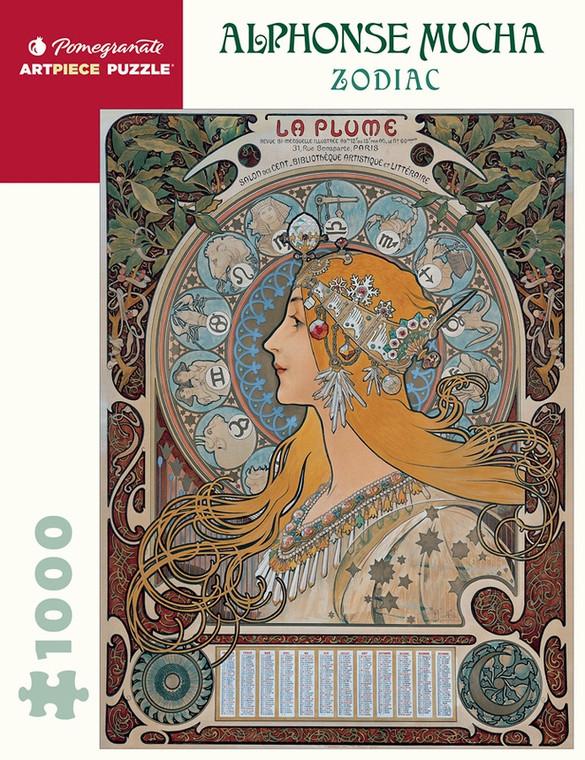 1000 Pc Mucha, Alphonse: Zodiac