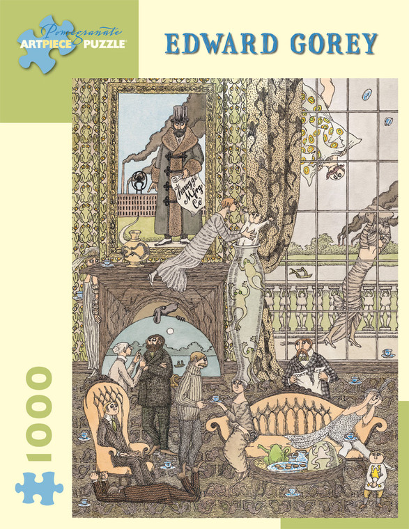 1000 Pc Gorey, Edward: Frawgge Mfrg. Co.