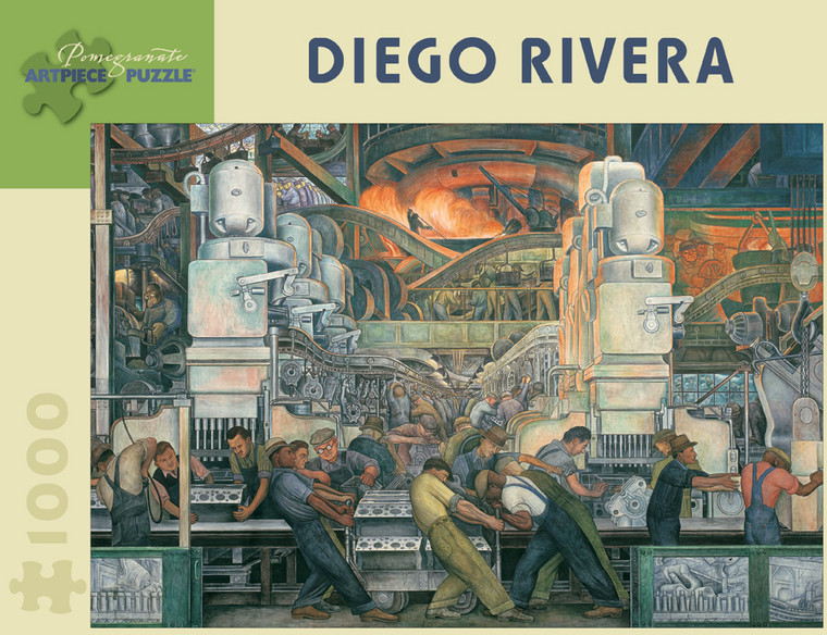 1000 Pc Rivera, Diego: Detroit Industry