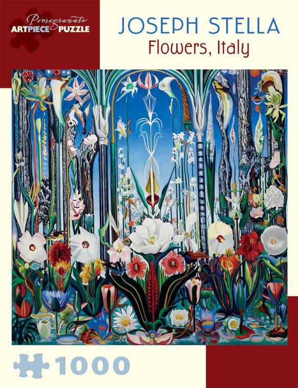 1000 Pc Stella, Joseph: Flowers, Italy