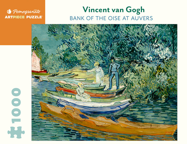1000 Pc Van Gogh, Vincent: Bank of the Oise at Auvers