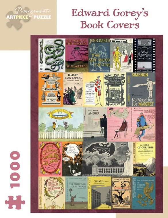 1000 Pc Gorey, Edward: Book Covers