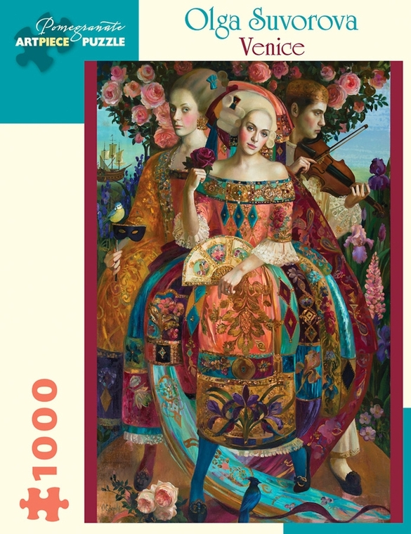 1000 Pc Suvorova, Olga: Venice