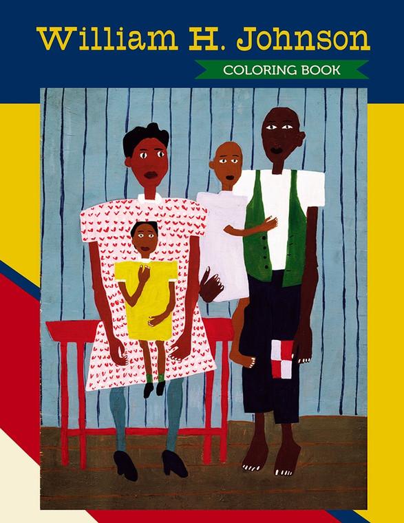 William H. Johnson Coloring Book