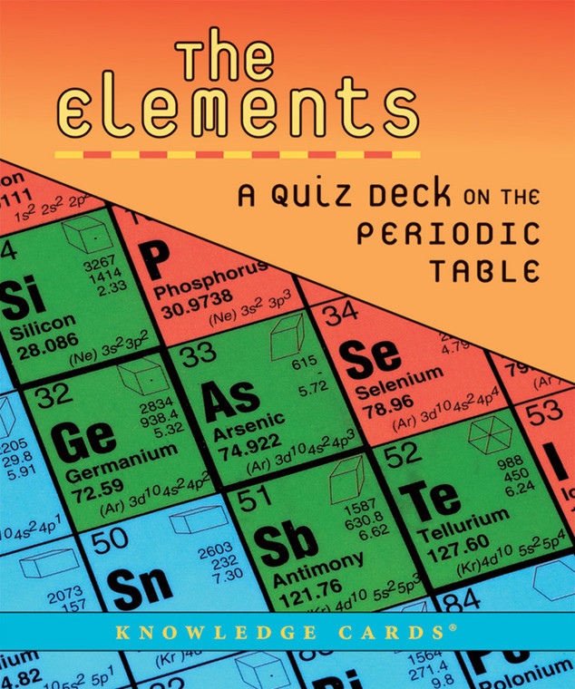 Knowledge Cards The Elements
