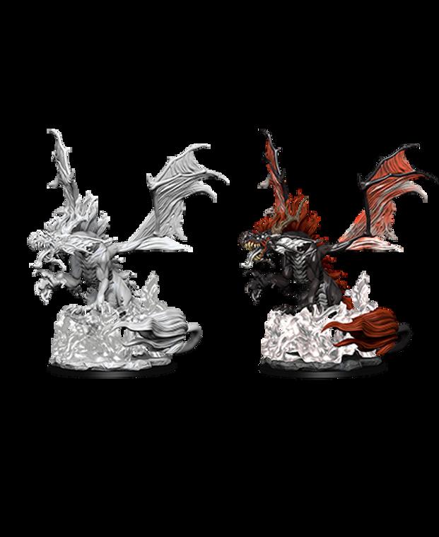 Unpainted NPC Dragon, Nightmare DC 90095