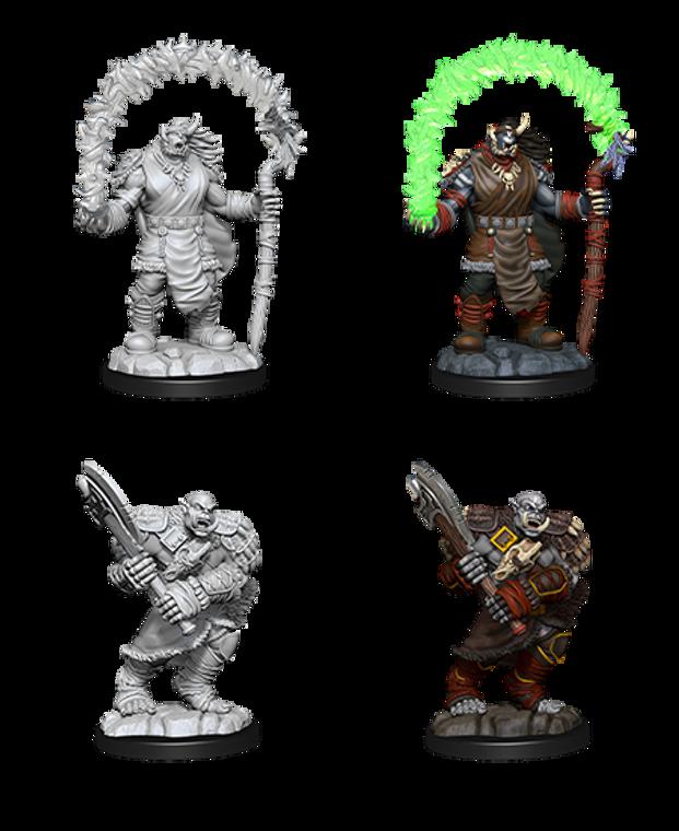 Unpainted NPC Orc Adventurers NM 90062