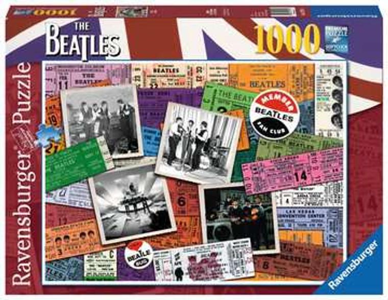 1000 Pc Beatles Tickets
