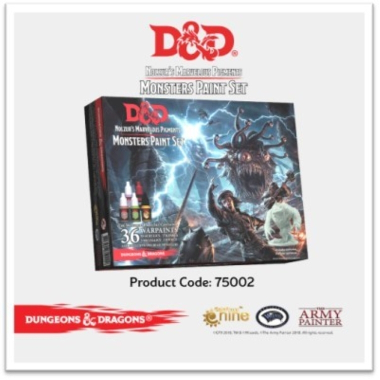 D&D Monsters Paint Set