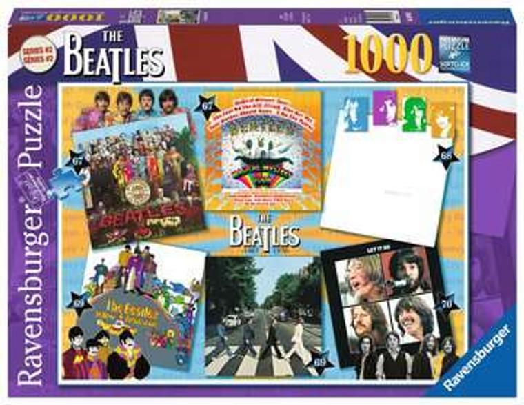 1000 Pc Beatles Albums 67-70