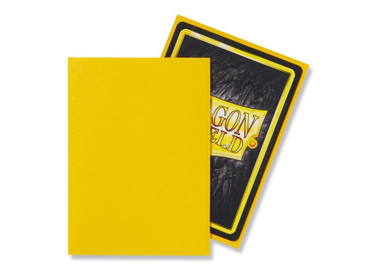 Dragon Shield Matte 100ct Yellow