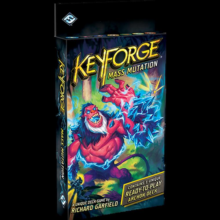 Keyforge Mass Mutation Archon Deck