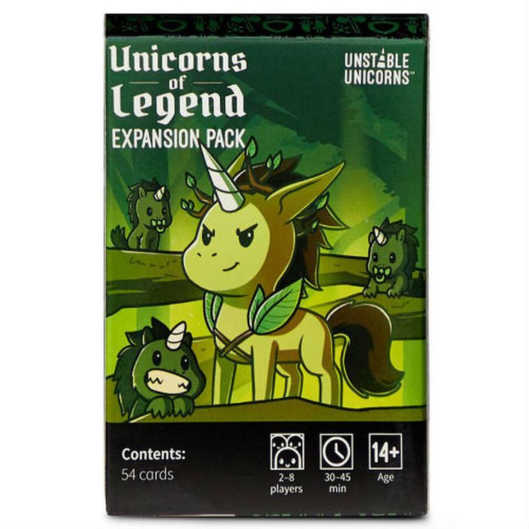 Unstable Unicorns Unicorns of Legend Expansion Pack