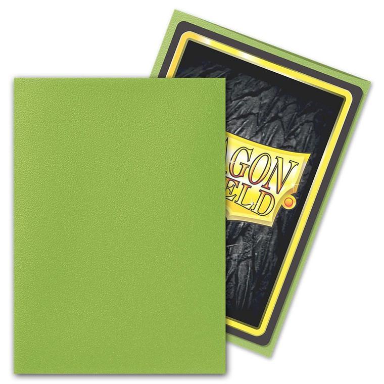 Dragon Shield Matte 100ct Lime