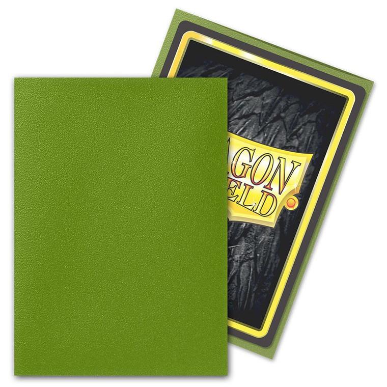 Dragon Shield Matte 100ct Olive