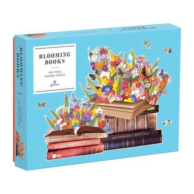 750 pc Blooming Books