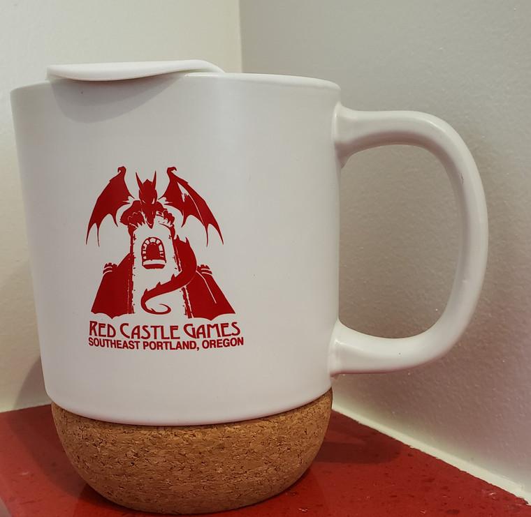 RCG 12oz Cork-Bottom Ceramic Mug