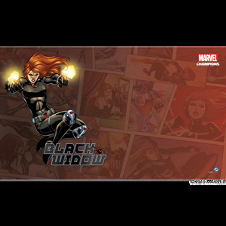 Marvel Champions Black Widow Game Mat