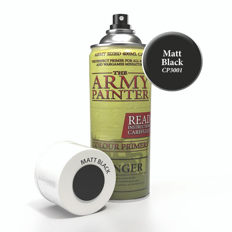 Army Painter Spray Primer Matt Black