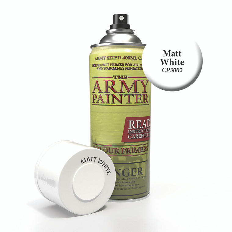 Army Painter Spray Primer Matt White