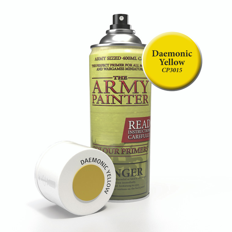 Army Painter Spray Primer Daemonic Yellow