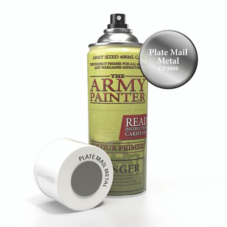 Army Painter Spray Primer Platemail Metal