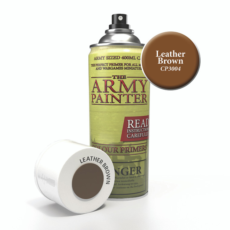 Army Painter Spray Primer Leather Brown