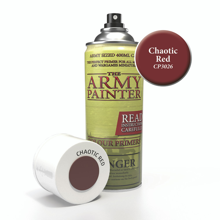 Army Painter Spray Primer Chaotic Red