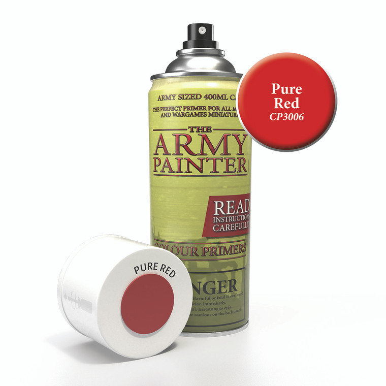 Army Painter Spray Primer Pure Red