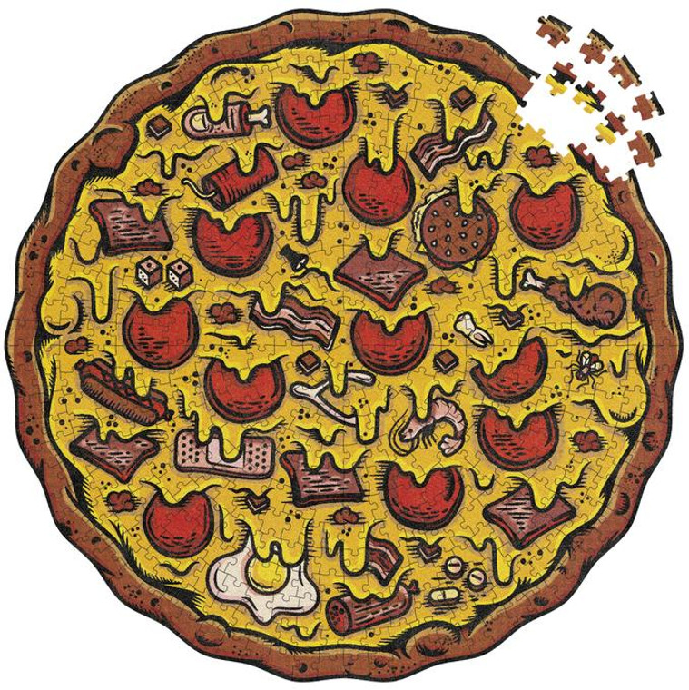 550 Pc Pizza Puzzles Meat Lovers